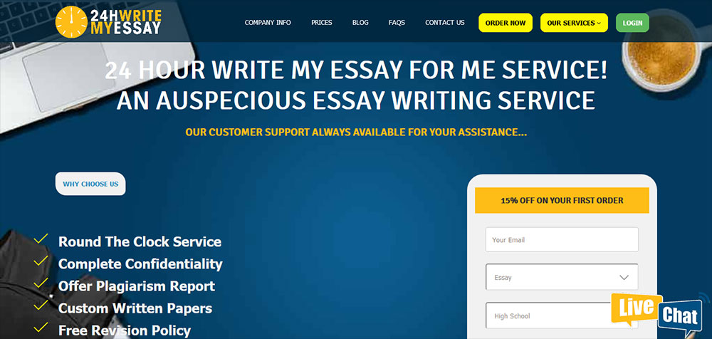 24HWritemyessay.com Reviews – Find Out Why This Site Is A Top Resource