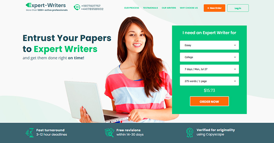 Expert-writers.net Review