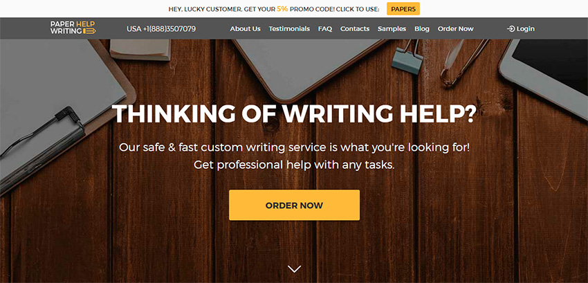 Paperhelpwriting Review