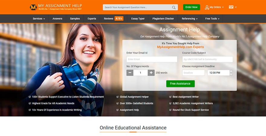 myassignmenthelp.com Reviews