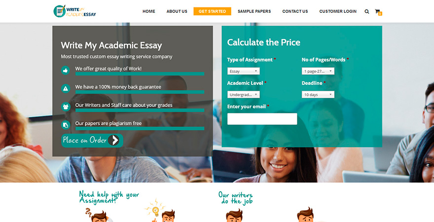 Writemyacademicessay.com Review