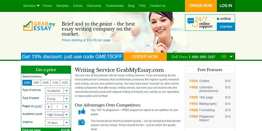 Grabmyessay Review